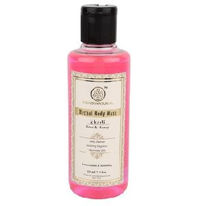 HERBAL ROSE & HONEY BODY WASH