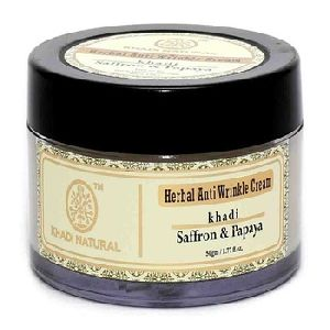 HERBAL SAFFRON PAPAYA ANTI WRINKLE CREAM