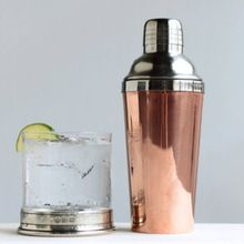 bar ware copper cocktail shaker