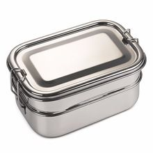 Stainless Steel Double Decker School tiffin box