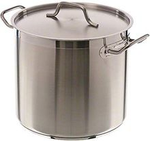 ALUMINIUM STOCK POT WITH LID
