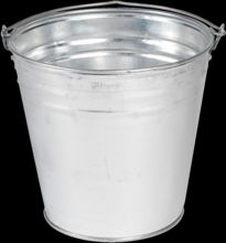Matt Finish Tin Champagne Bucket