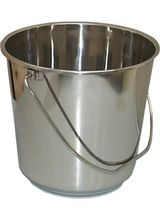 Stainless Steel Beeding Buckets