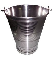 Stainless steel bucket for household
