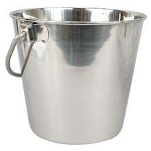 stainless steel Custom logo Pail bucket