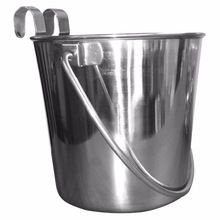 Stainless steel Flat Sided bucket