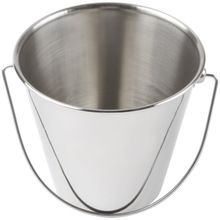 stainless steel large outdoor bucket