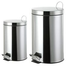 stainless steel paddler bin with single wall