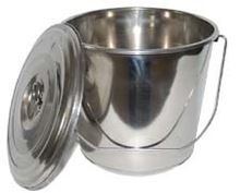 Stainless Steel Pail Bucket with Lid
