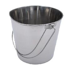Stainless Steel Pail Bucket With Matt finish