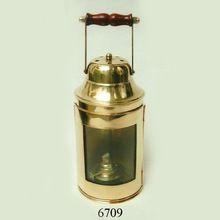 brass ship lamp