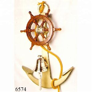 Decorative Nautical Ship Weel