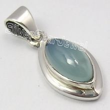 CHALCEDONY Gem HANDCRAFTED Pendant
