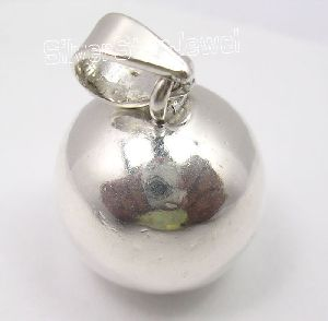 Silver HOLLOW SPHERE Pendant