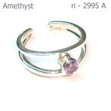 Amethyst Silver Ring For Women