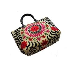 Suzani Embroidered Shopping Bags