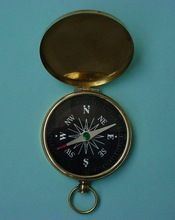 Antique Brass Compass Replica