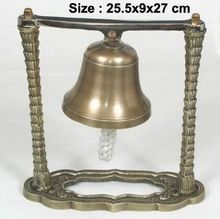 Antique Brass Desk Bell