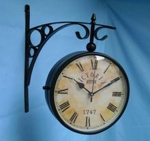 Antique station clocks,