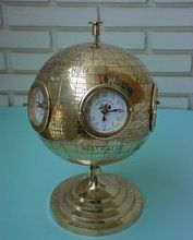 Brass Nautical Table Clock