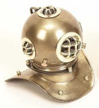 Brass Old Antique Finish Marine 8 inch Decorative Diver Helmet