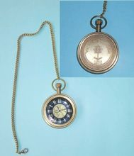 Brass Pendant Watch with chain