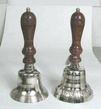 Hand Bell with Wood Handle