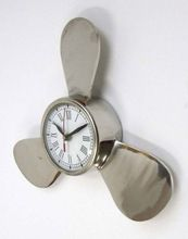 Marine Brass Propeller Wall Clock