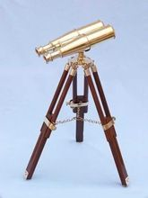 Nautical Brass Binocular on Tripod