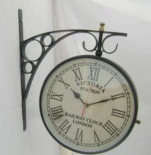 Train Station Wall Clock, Railway station clocks with stand