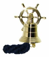 Wheel Brass Ship Bell,