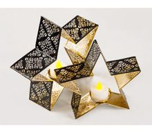 Christmas star Candle Holder