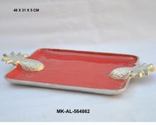 Aluminum Tray With Enamel Color