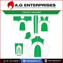 Cricket Color Uniforms