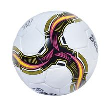 Custom soccer ball with latex bladder
