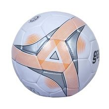 Grey Soccer Ball with printing