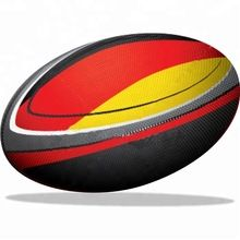 yellow rugby ball