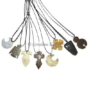 Arrowheads Polished Necklace