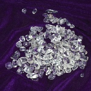 Brazilian Crystal Quartz Chips Stones