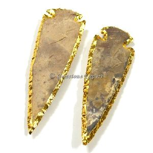 Gold Electroplated Arrowhead