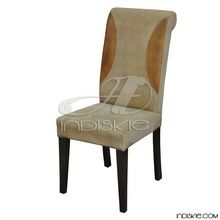 Canvass and  Leather Dining Chairs