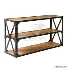 Industrial Iron Metal Display Rack