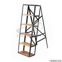 Industrial Ladder Shelves Bookcase