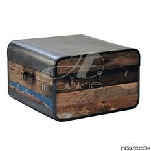 INDUSTRIAL WOOD STORAGE BOX