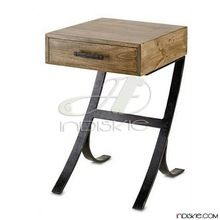Mango Wood Nightstand Table,