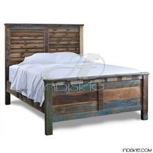 Reclaimed Wooden Home Bedroom Furniture Beds