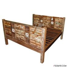 Recycled Teak Furniture Bed and Headboards