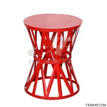 Round Drum Side Table
