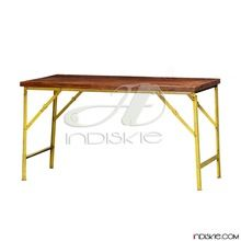 Vintage Industrial Folding Tables