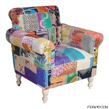 Vintage Kantha Sofa Patch Work Chairs